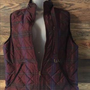 Ralph Lauren Quilted Mock-neck Vest